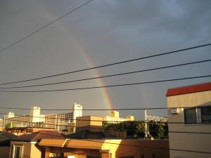 虹、1枚目